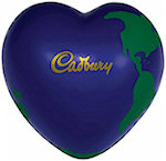 Heart Earth Ball Stress Balls